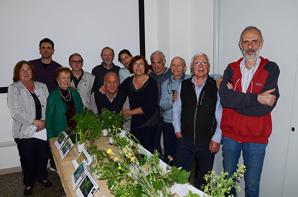 Mostra botanica presso la sede sociale